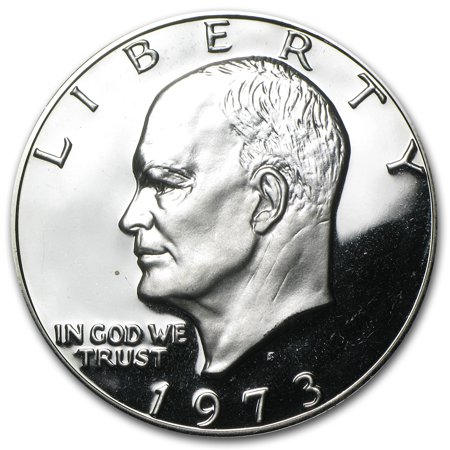 1973-S 40% Silver Eisenhower Dollar Gem Proof