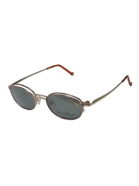 f11bbd156775 Free shipping. Product Image New Smartclip 289 Mens/Womens Designer  Half-Rim Rose / Gold Budget With Polarized
