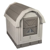 "Dog Palace Insulated Dog House, Large, 30.5""H x 31.5"" W x 35.5"" L"