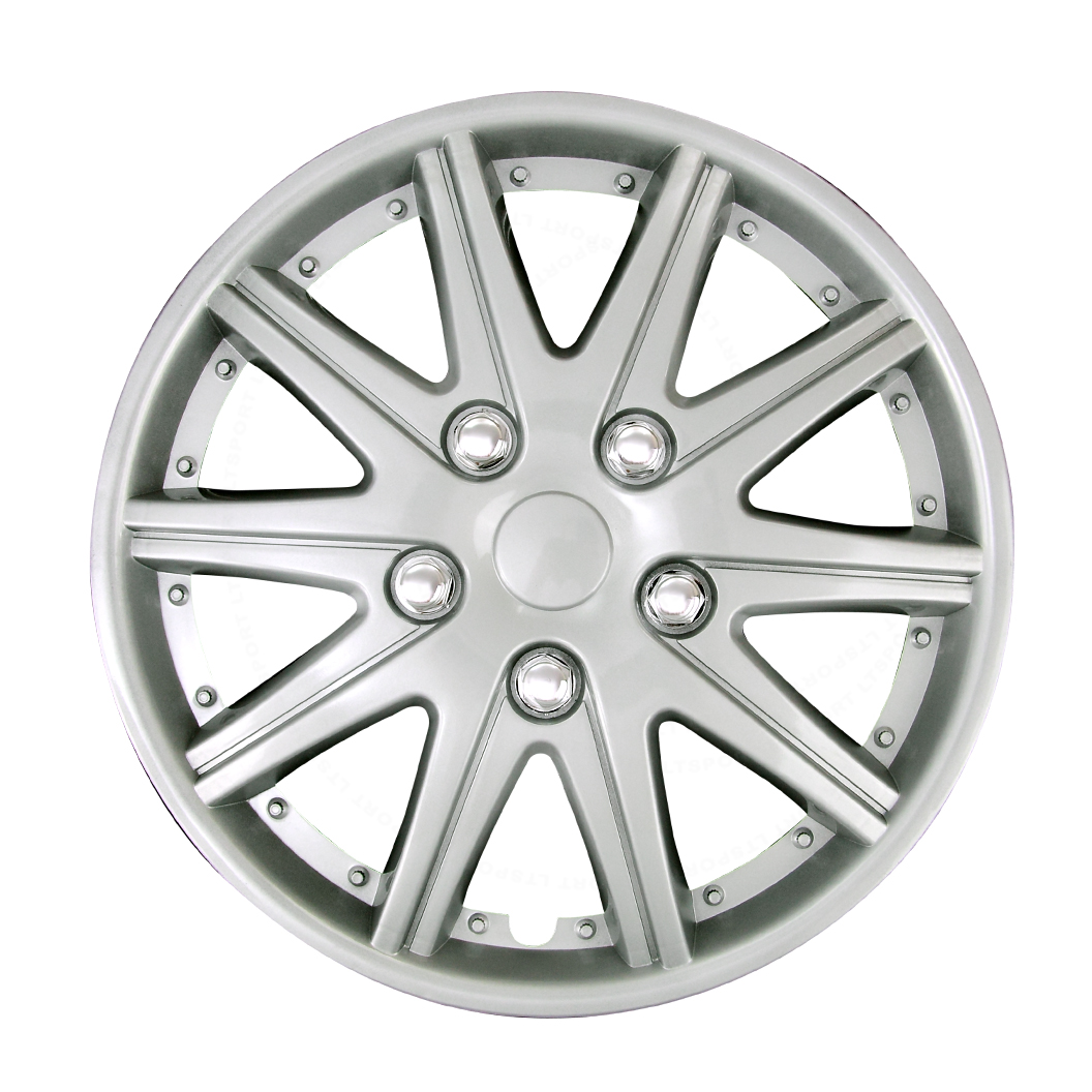 "FIT 87-11 TOYOTA 4 PCS 14"" INCH WHEEL COVERS HUB CAPS RIMS FULL SILVER"