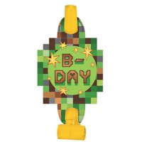 Minecraft Party Blowers, 8ct