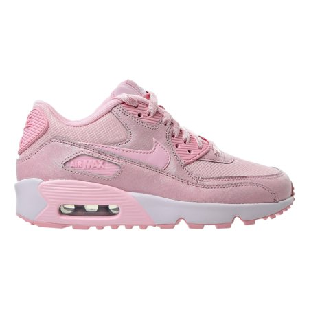 best service 6a6e8 120b8 Nike - Nike Air Max 90 SE Mesh Big Kids (GS) Shoes Prism Pink White ...