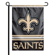 "New Orleans Saints WinCraft 12"" x 18"" Double-Sided Garden Flag"