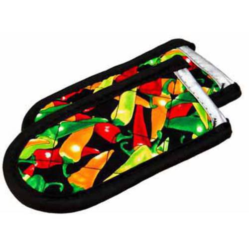 Lodge Multi-Color Chili Pepper Hot Handle Holders, Set of 2