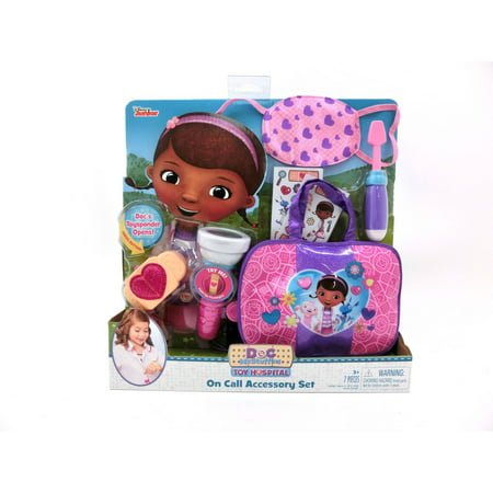 Doc McStuffins Toy Hospital On Call Accessory Set