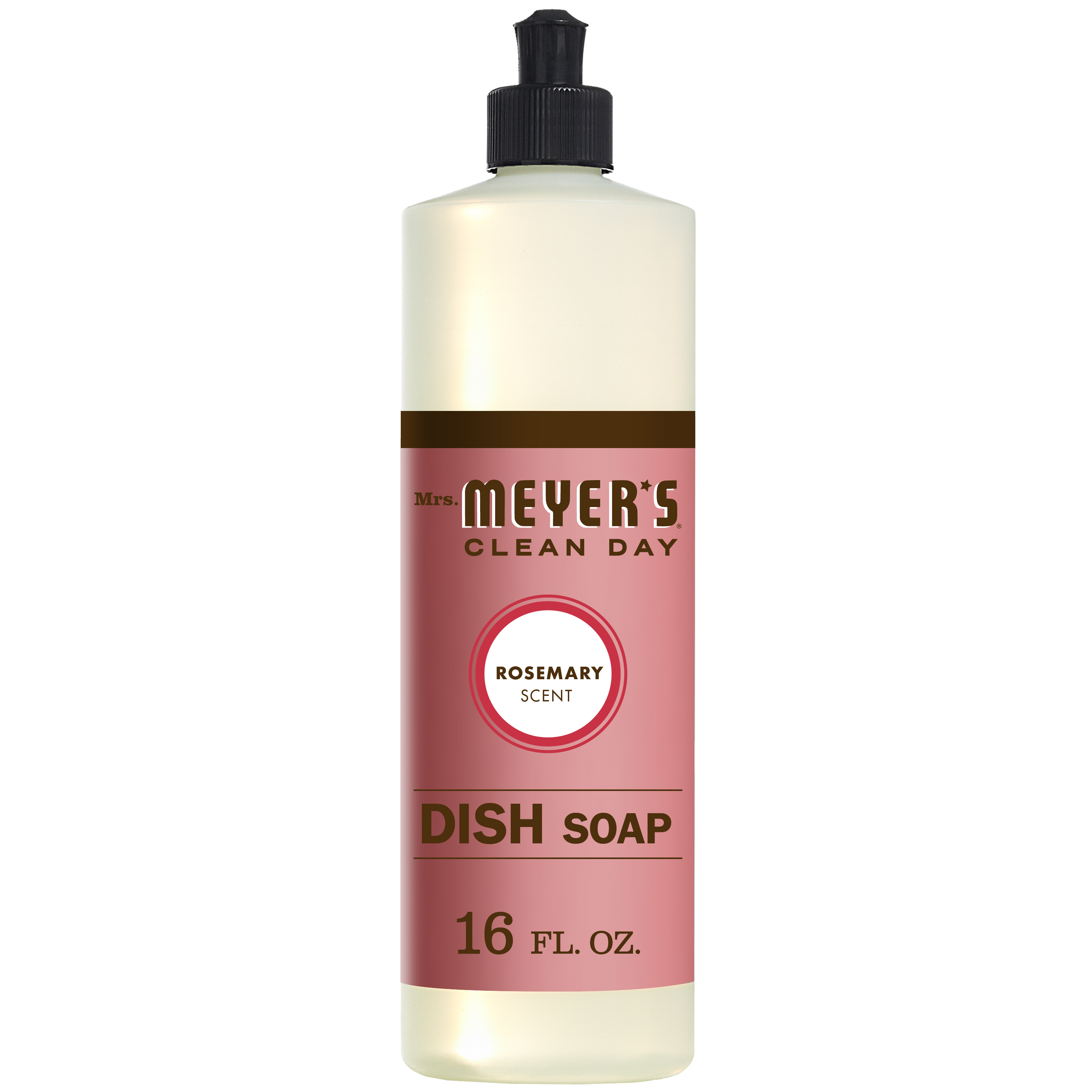 (2 pack) Mrs  Meyer's Clean Day Dish Soap, Rosemary, 16 fl oz