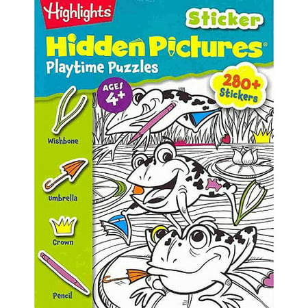 Hidden Picture Mazes (Highlights Sticker Hidden Pictures Playtime Puzzles)