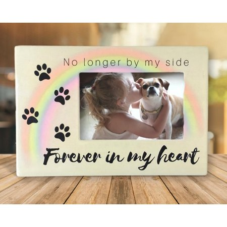 Pet Memorial Frame - No Longer By My Side Forever In My Heart - 4
