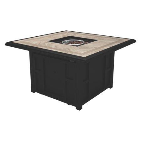Ridge Gathering Table Set - Signature Design by Ashley Chestnut Ridge 45 in. Fire Table