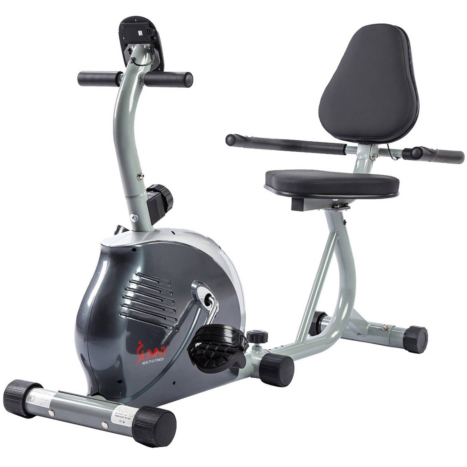 Sunny Health and Fitness SF-RB921 Magnetic Recumbent Bike