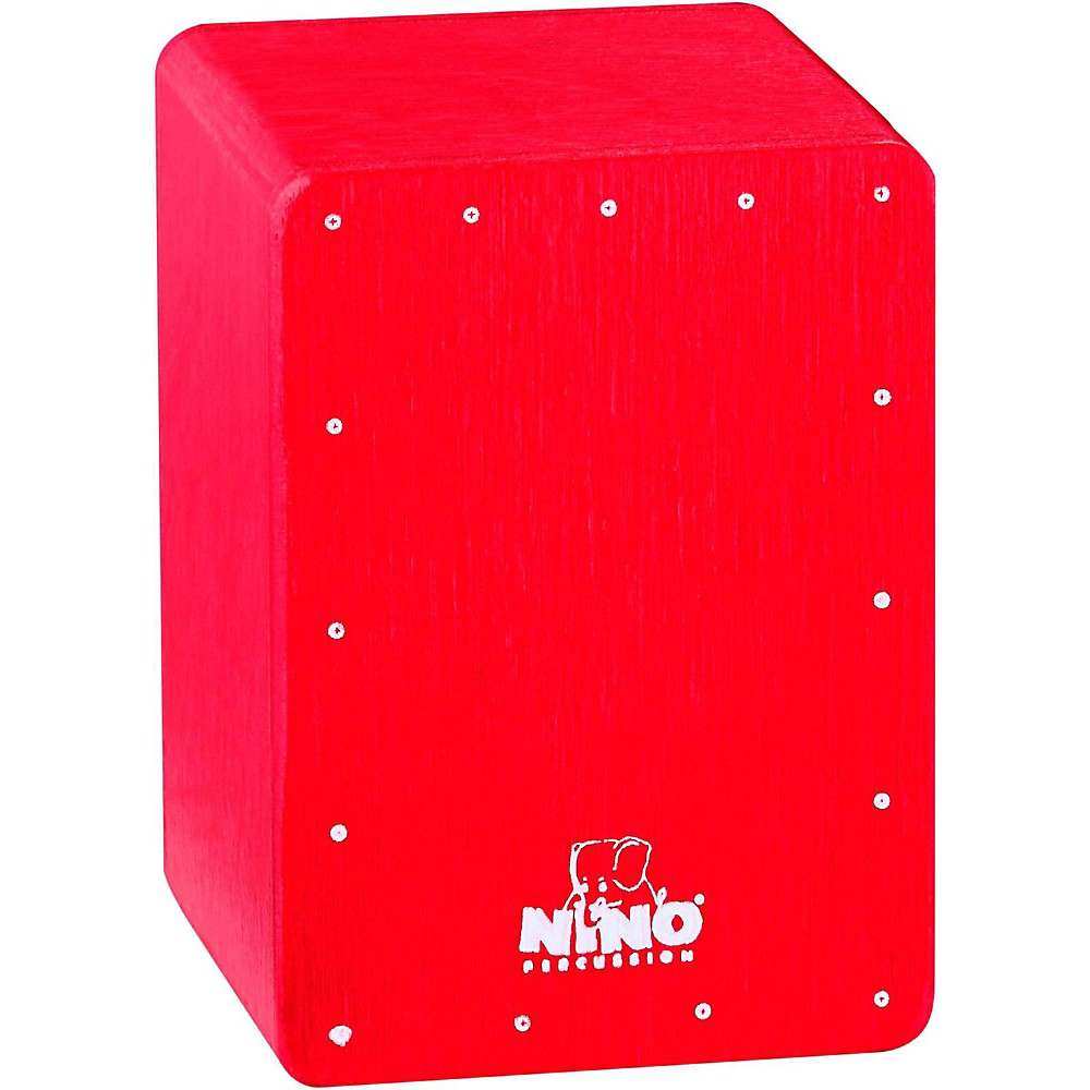 Nino Mini Cajon Shaker Red