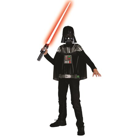 Star Wars Darth Vader Child Halloween Costume Kit - Darth Vader Costume Pieces