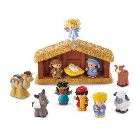 Fisher-Price Little People Nativity Set - A Little People Christmas](Christmas Nativity Set)