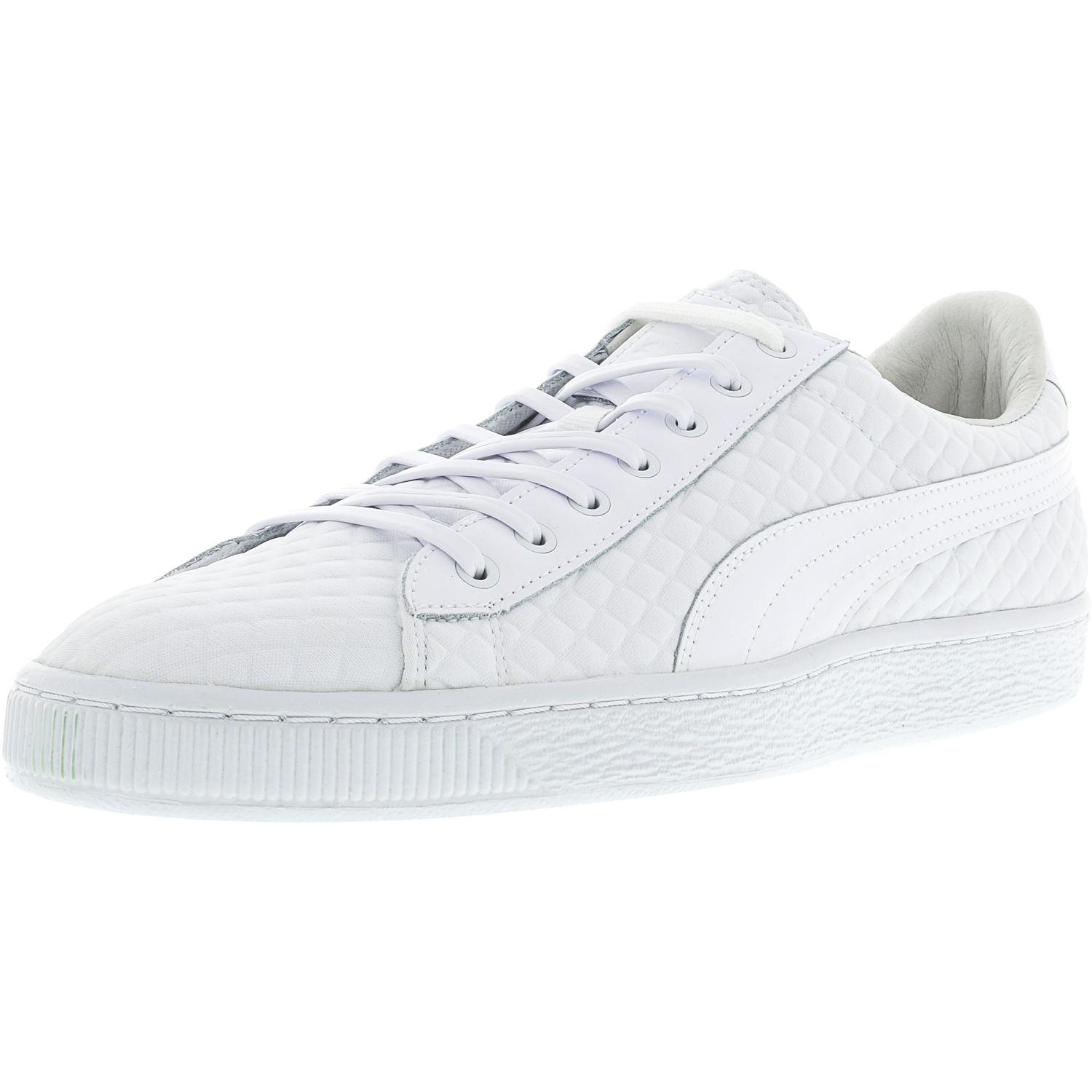 Puma Men's Basket X Meek Bike Life White Ankle-High Fashion Sneaker 10M by Puma