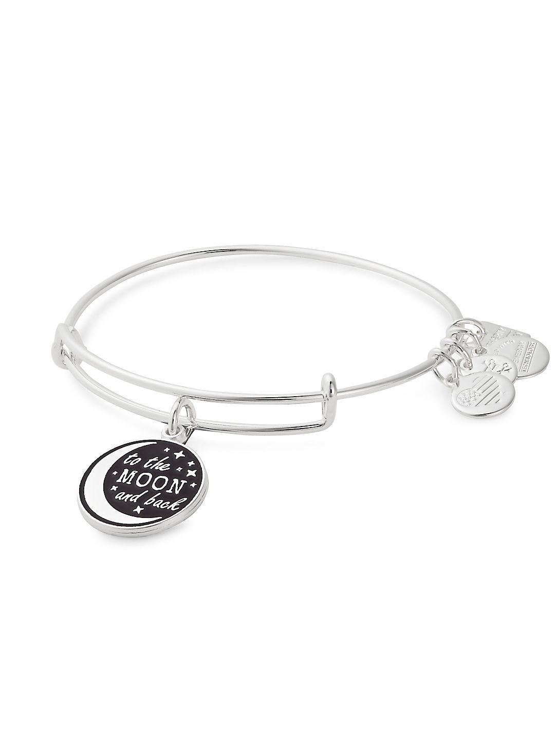 Silvertone To the Moon and Back Charm Bracelet