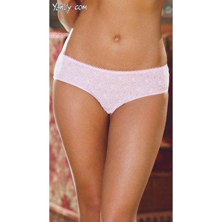Open Crotch Low Rise Lace Panty, Open Crotch Lingerie Bowknot Low Rise Lace
