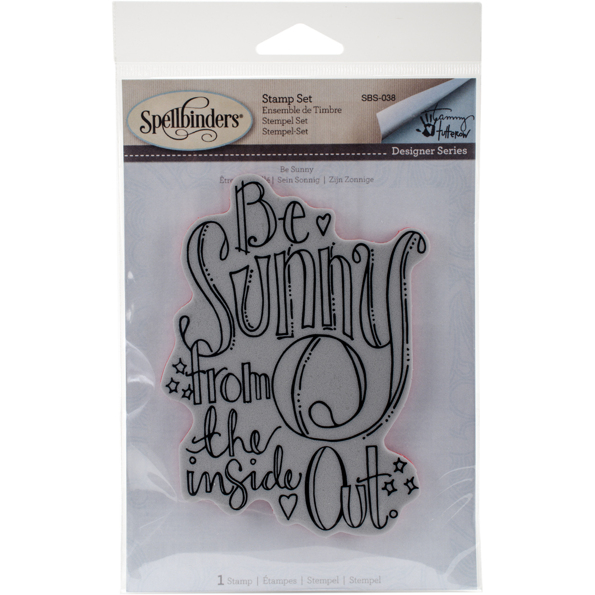 Spellbinders Stamps-Be Sunny