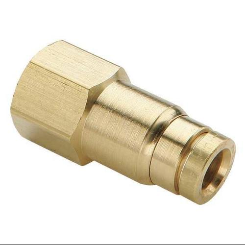 PARKER 66PMT-8-4 Female Connector, 1/2 x 1/4 In