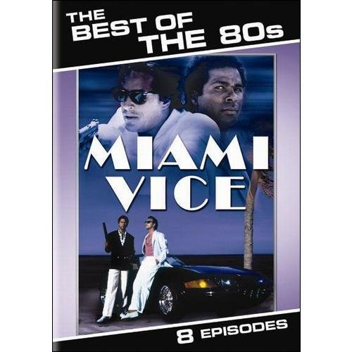 BEST OF THE 80S-MIAMI VICE (DVD) (ENG SDH/FF/1.33:1/2DISCS)