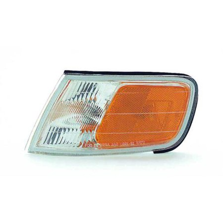 CPP HO2550109 CAPA Left Marker Lamp Assembly for 94-97 Honda Accord