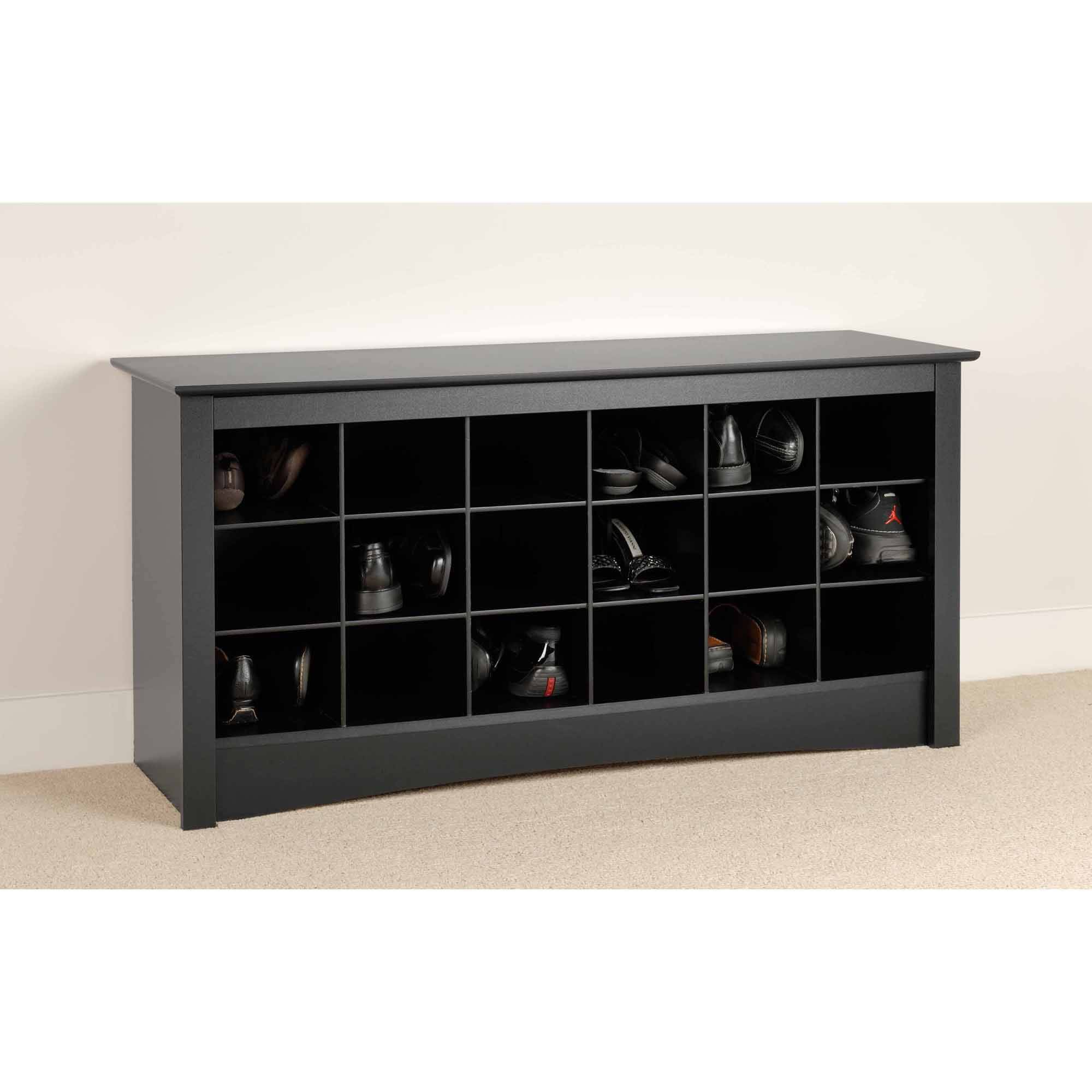 Prepac Shoe Storage Cubbie Entryway Bench