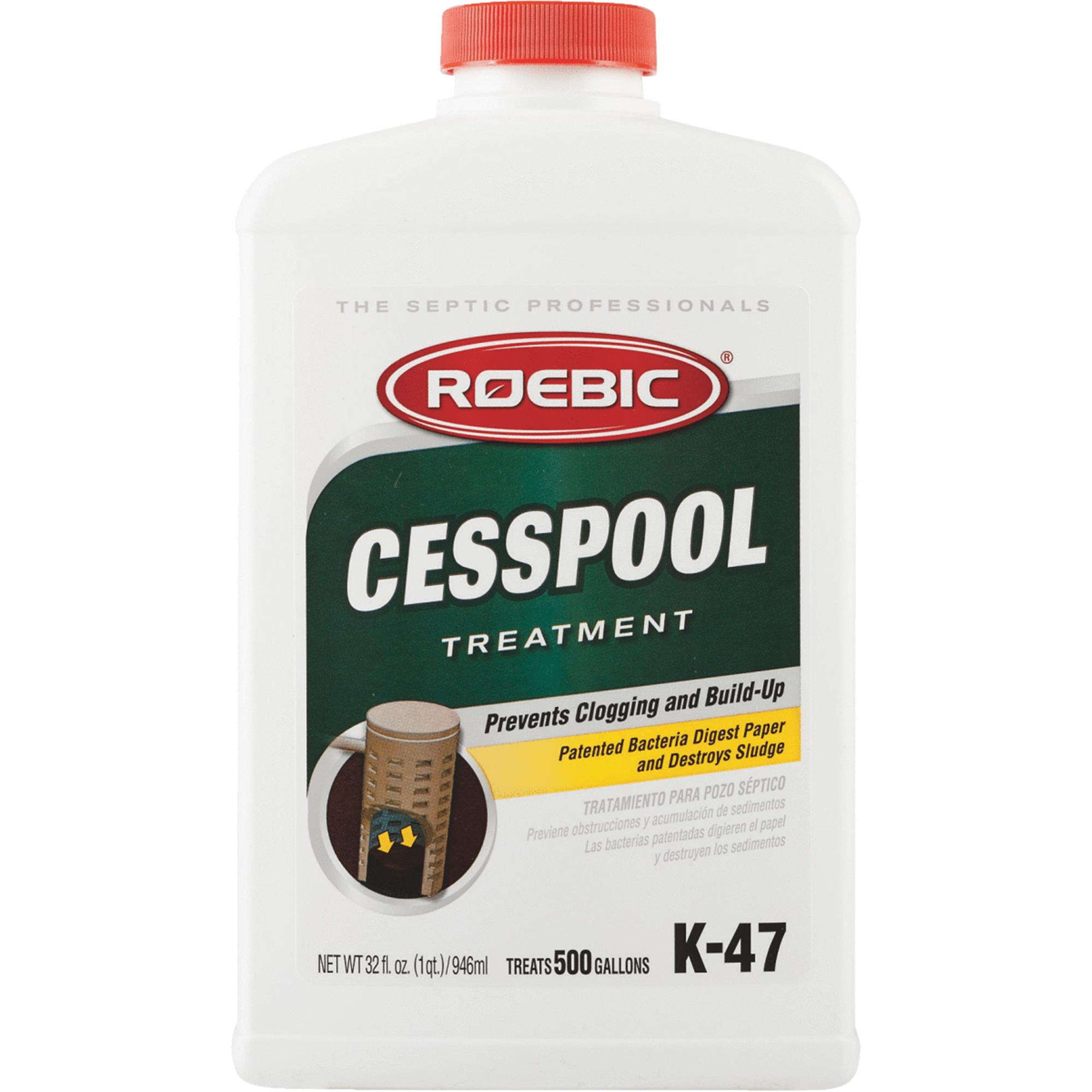 Roebic Cesspool Septic Tank Treatment