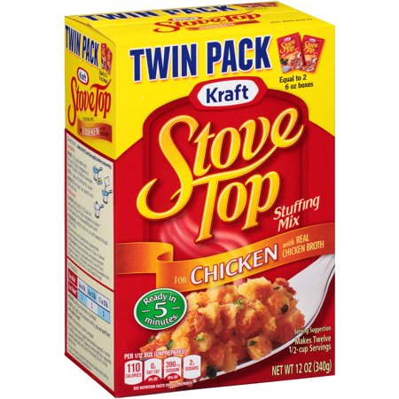 Kraft Stove Top Stuffing Mix For Chicken  2 Count  12 Oz