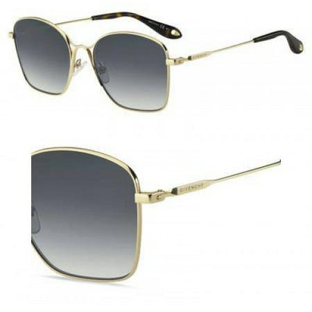 Sunglasses Givenchy Gv 7092 /S 0FT3 Gray Gold / 9O dark gray gradient lens