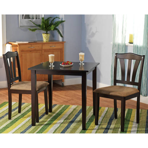 Metropolitan 3 Piece Dining Room Set, Multiple Finishes by Overstock