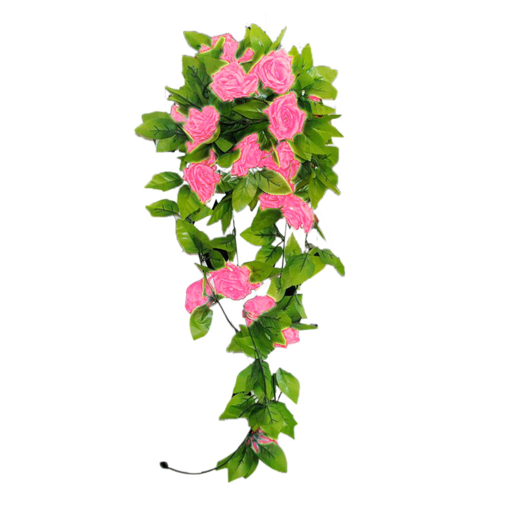 Artificial Rose Vines Bouquet Garden Wedding Decoration