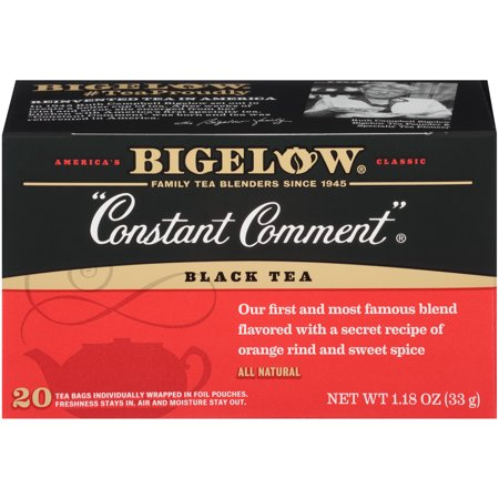 Bigelow Constant Comment Black Tea Bags, 20 Count