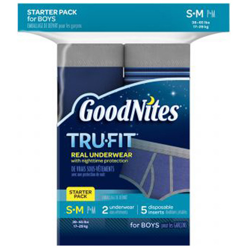GoodNites TruFit Underwear for Boys, Starter Pack