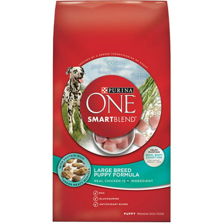 Purina One Smartblend Large Breed Puppy Formula Puppy Premium Dog Food 16 5 Lb  Bag