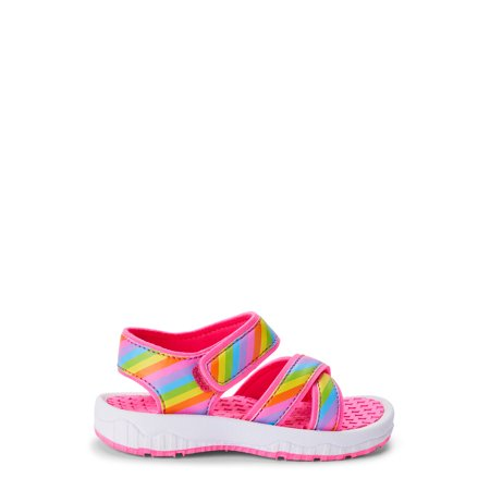 Wonder Nation Open Toe Sport Sandals (Toddler Girls)