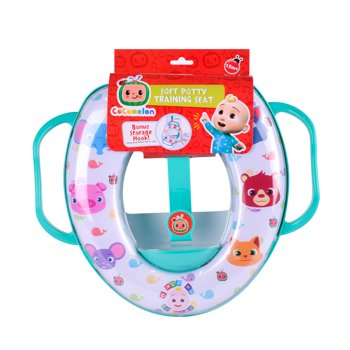 CoComelon Soft Potty Training Seat with Potty Hook