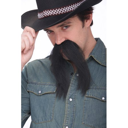 The Western Adult Halloween Mustache - The Fake Mustache