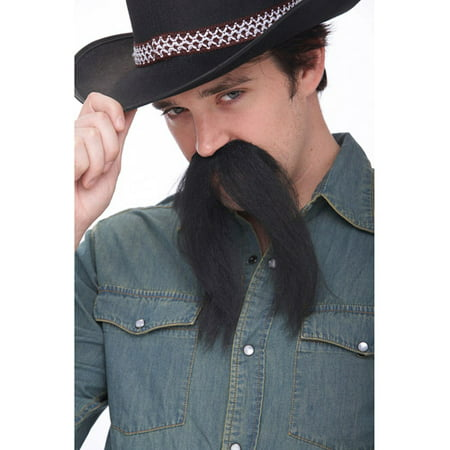 The Western Adult Halloween Mustache Accessory - Halloween Costume Mustache
