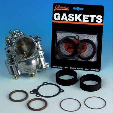 James Gasket 27002-66-SS S&S Carburetor to Manifold Seal Gasket Kit