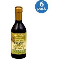 Alessi Organic White Balsamic Vinegar, 8.5 oz, (Pack of 6)