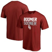 Oklahoma Sooners Fanatics Branded Hometown Collection Boomer Sooner T-Shirt - Crimson