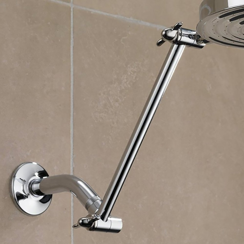 Delta Faucets 11 Inch Adjustable Universal Shower Arm, Chrome ...