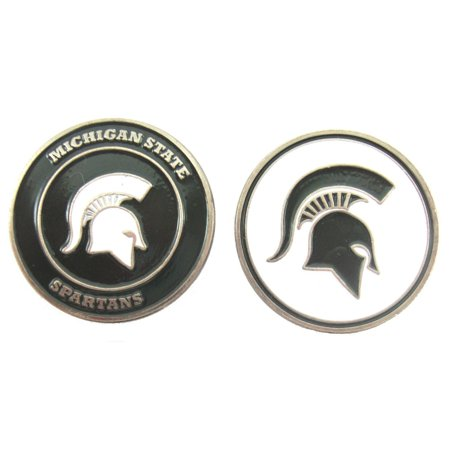 Michigan State Spartans Tin Sign 12 x 12in, Michigan State embossed aluminum sign in team colors By Tag City for $<!---->