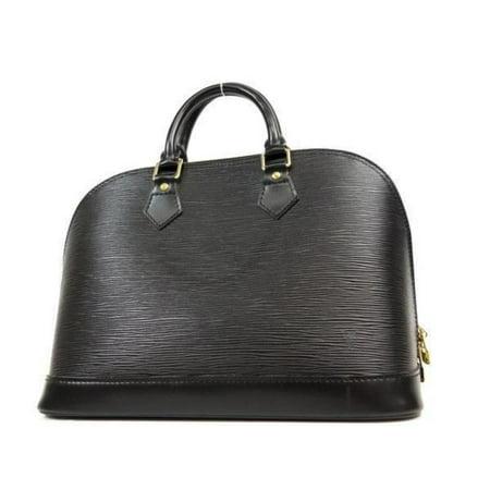 Alma Bag - Alma Noir 230822 Black Leather Satchel