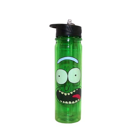 Rick & Morty Pickle Rick Water Bottle