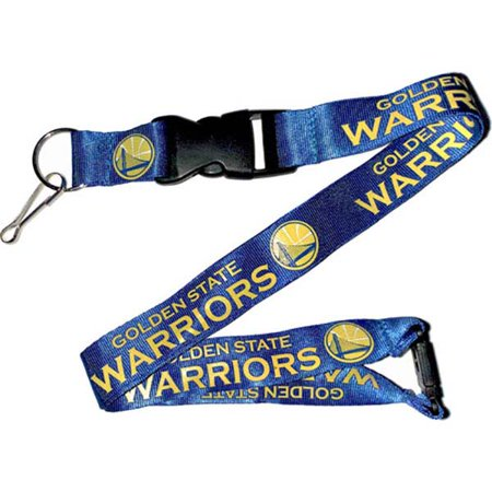 Golden State Warriors NBA Team Color Logo Lanyard (Blue) - Gold State Warriors