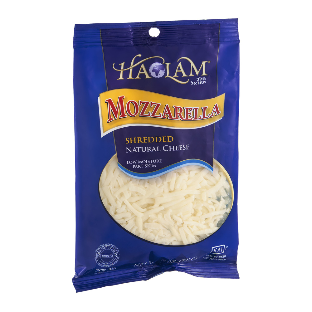 Haolam Cheese Mozzarella Shredded, 8.0 OZ
