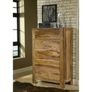 Modus Furniture International Atria 5-Drawer Chest, Natural Brown