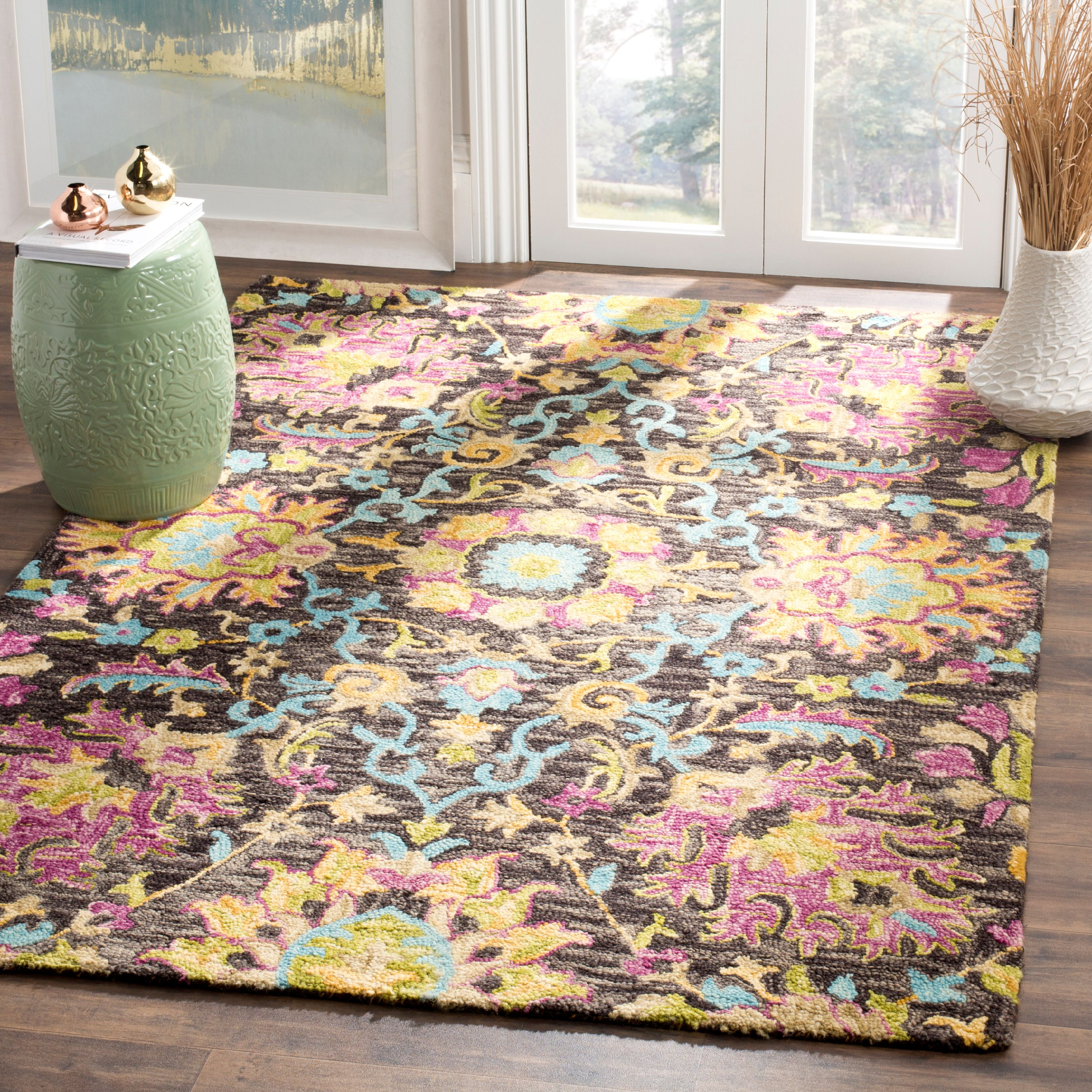 Safavieh Blossom Gavril Floral Area Rug or Runner by Safavieh