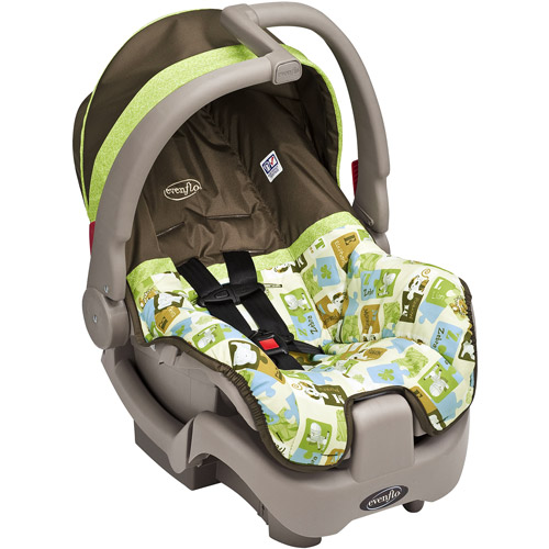 Evenflo - Discovery 5 Infant Car Seat, Jungle Puzzle