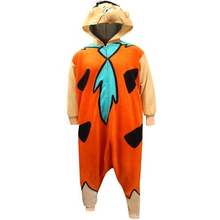 Fred Flintstone Onesie Adult Kigarumi - Footie Pajamas Adults